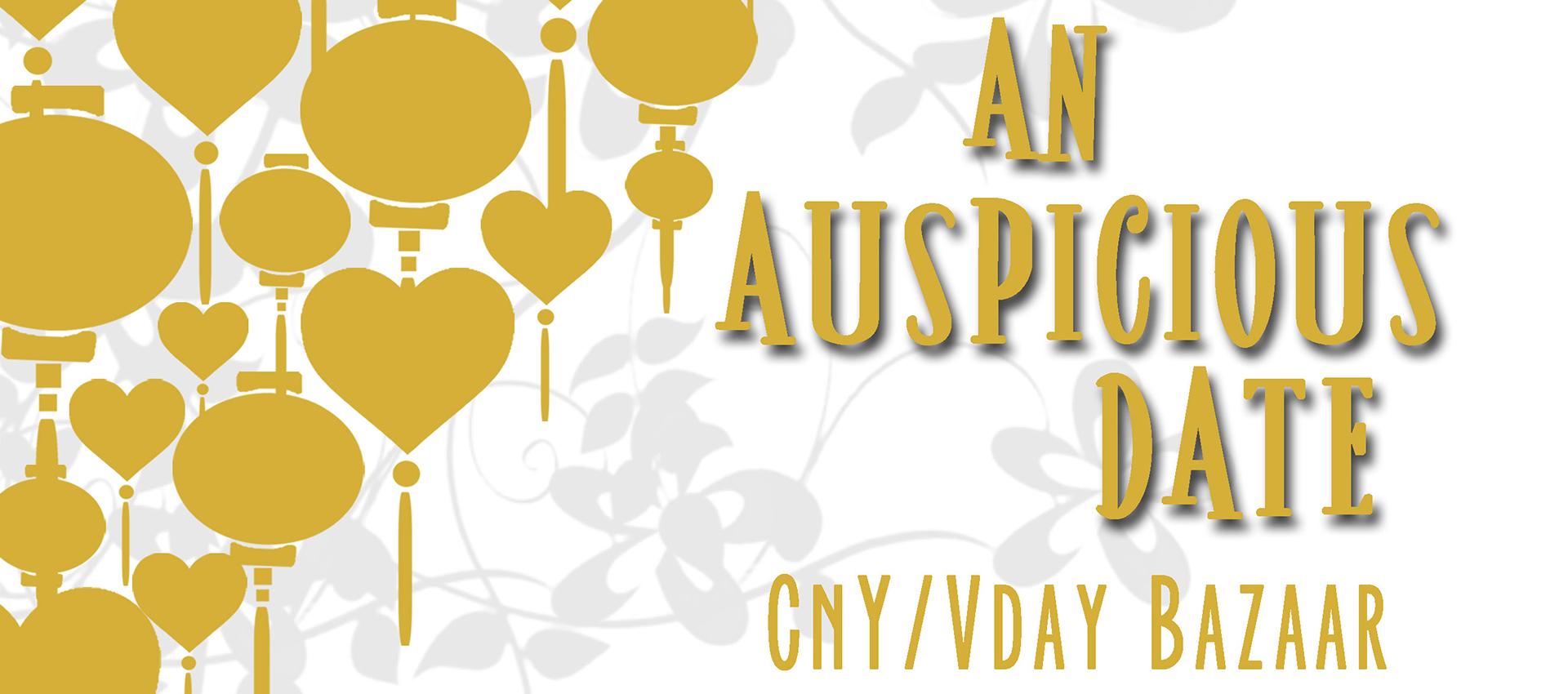 An Auspicious Date A CNYValentines Day Bazaar NUS
