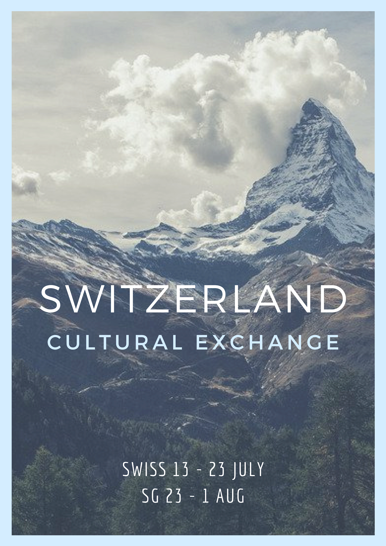 Switzerland Cultural Exchange