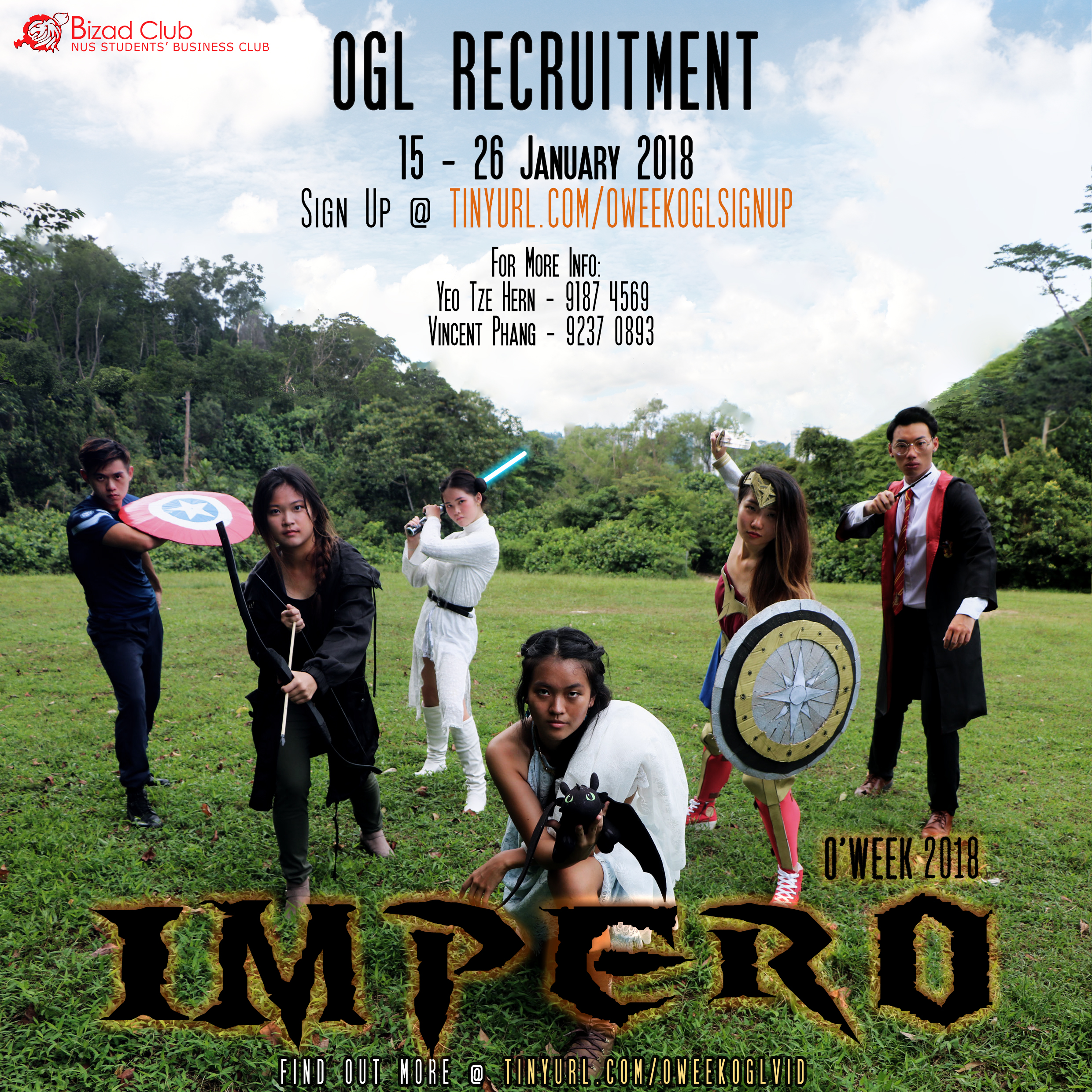O'WEEK OGL Recruitment